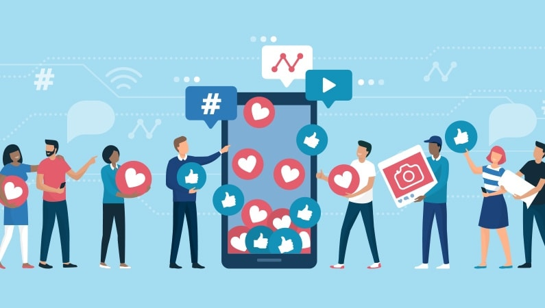 Spred budskabet på de sociale medier
