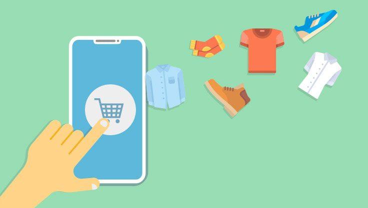 Online-shopping-indkoebskurv