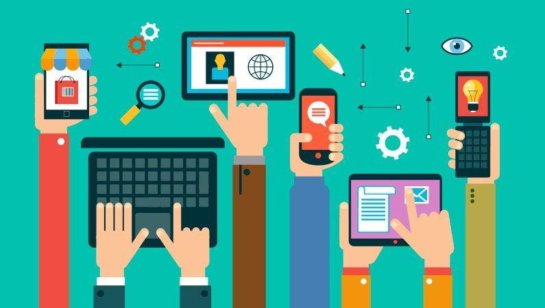 Brug alle digitale platforme