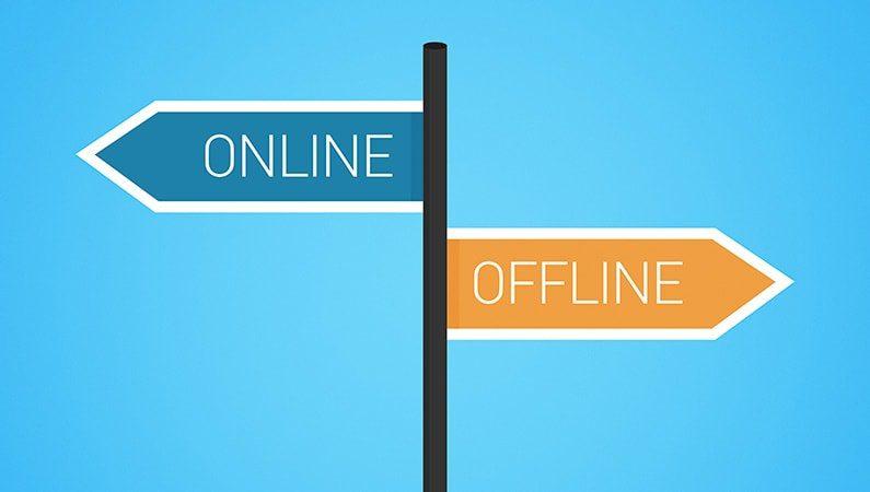 Søger information online, men køber offline