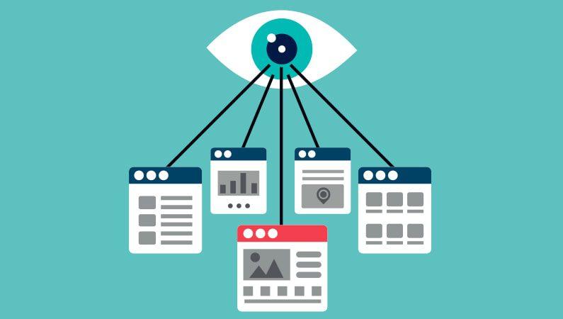 Vi søge information forskellige steder online