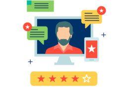 Stjerne reviews vurdering
