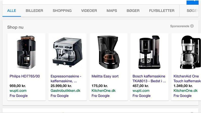 Det nye Google Shopping