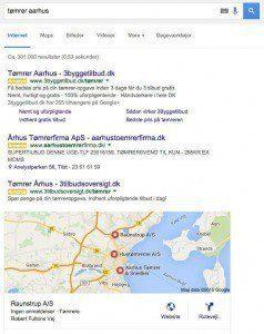 Søgening på Aarhus tømrer