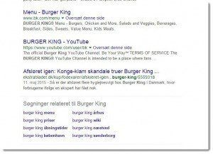 Burger King - reputation management