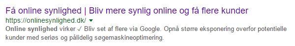 lok brugere ind på din hjemmeside med en god seotitel og metabeskrivelse
