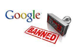 Banned fra google