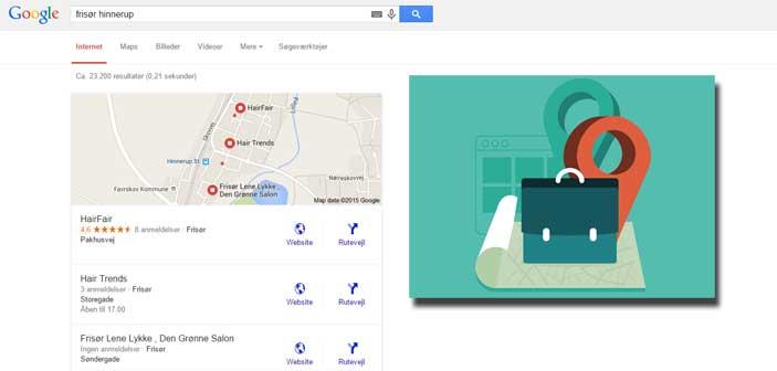 Google skærer 50 % af de lokale søgeresultater