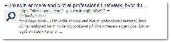 Der er stadig authorship billeder søgeresultater fra Google Plus. Her en en opdatering fra OnlineSynlighed.dk