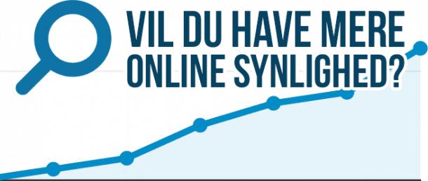 Vil du have mere online synlighed?
