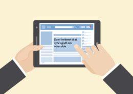 Det er ulovligt ifølge markedsføringsloven at invitere folk til at synes godt om din Facebookside