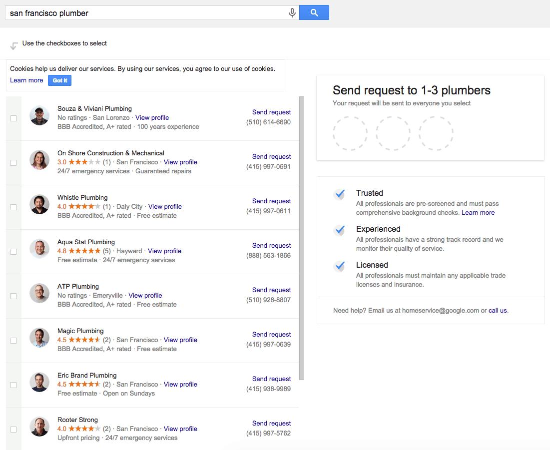 Leadform i søgeresultaterne - Billede 2
