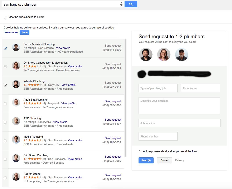 Leadform i søgeresultaterne - Billede 3