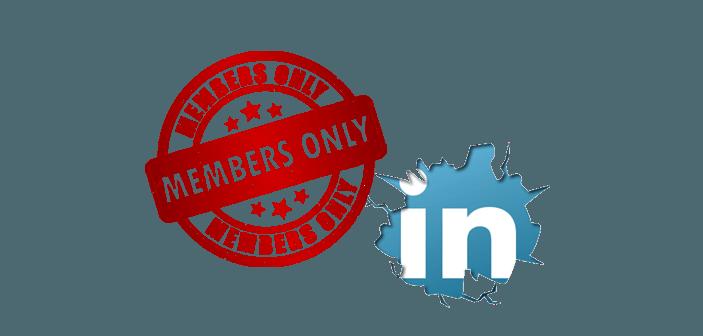LinkedIn ryster posen: Private grupper og ingen crawling