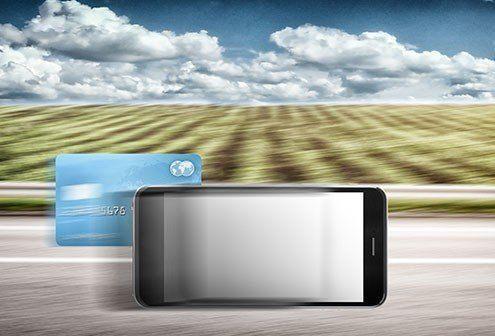 mobilen overhaler dankortet