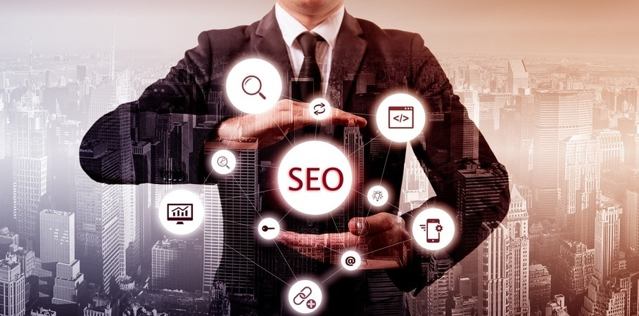 SEO er en stor del af online reputation management