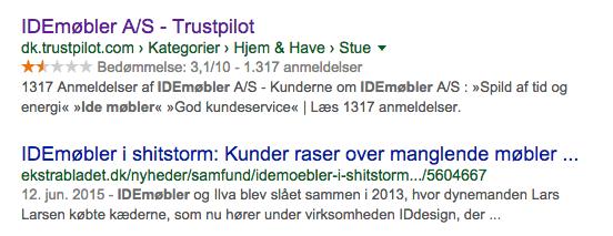 onlinesynlighed.dk - idemøbler serps