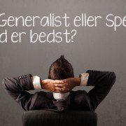 SEO - Generalist eller Specialist