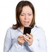 Smartphone irritation