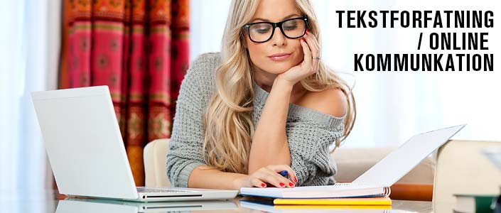 tekstforfatning / online kommunkation