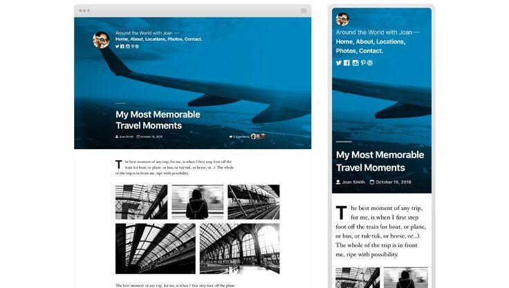 WordPress temaet Twenty Nineteen