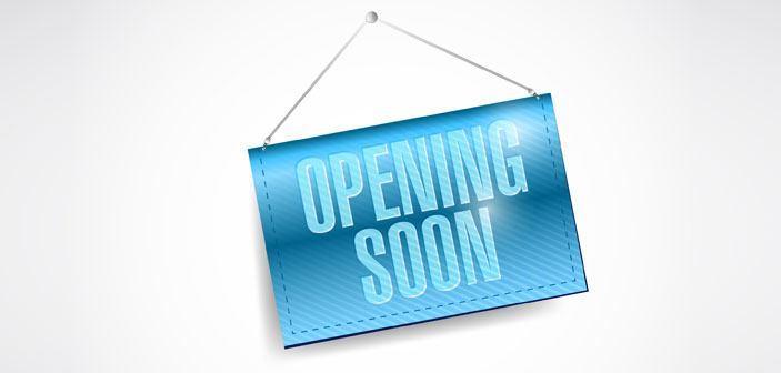 Vi åbner snart